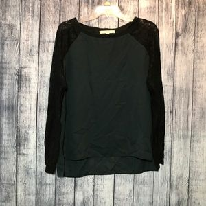{3/$25} Loft size small long sleeve blouse